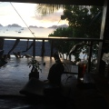vue depuis le restaurant de l'hôtel