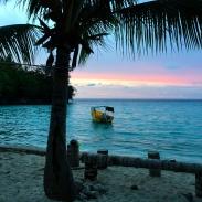 Coucher soleil Sera Beach