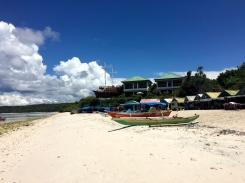 Warung sur la plage